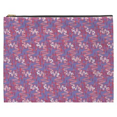 Pattern Abstract Squiggles Gliftex Cosmetic Bag (XXXL)