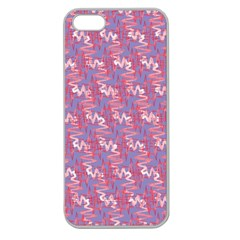 Pattern Abstract Squiggles Gliftex Apple Seamless Iphone 5 Case (clear)
