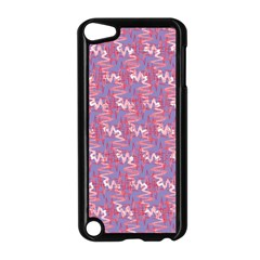 Pattern Abstract Squiggles Gliftex Apple iPod Touch 5 Case (Black)