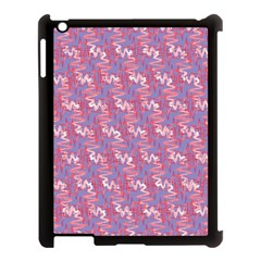 Pattern Abstract Squiggles Gliftex Apple Ipad 3/4 Case (black)