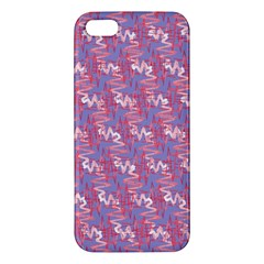 Pattern Abstract Squiggles Gliftex Apple iPhone 5 Premium Hardshell Case
