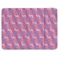 Pattern Abstract Squiggles Gliftex Samsung Galaxy Tab 7  P1000 Flip Case