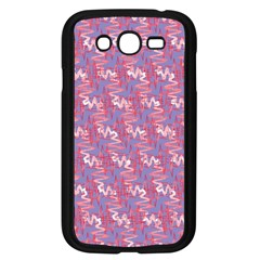 Pattern Abstract Squiggles Gliftex Samsung Galaxy Grand Duos I9082 Case (black)