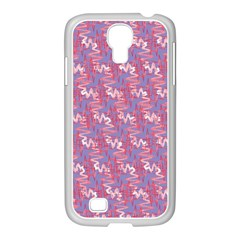 Pattern Abstract Squiggles Gliftex Samsung Galaxy S4 I9500/ I9505 Case (white)
