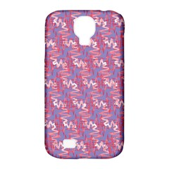 Pattern Abstract Squiggles Gliftex Samsung Galaxy S4 Classic Hardshell Case (PC+Silicone)