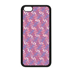 Pattern Abstract Squiggles Gliftex Apple iPhone 5C Seamless Case (Black)