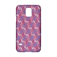 Pattern Abstract Squiggles Gliftex Samsung Galaxy S5 Hardshell Case