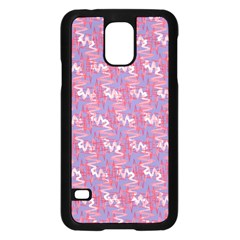 Pattern Abstract Squiggles Gliftex Samsung Galaxy S5 Case (Black)
