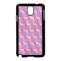Pattern Abstract Squiggles Gliftex Samsung Galaxy Note 3 Neo Hardshell Case (black)