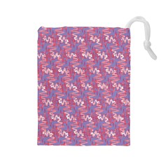 Pattern Abstract Squiggles Gliftex Drawstring Pouches (large)