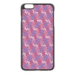 Pattern Abstract Squiggles Gliftex Apple Iphone 6 Plus/6s Plus Black Enamel Case