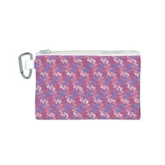 Pattern Abstract Squiggles Gliftex Canvas Cosmetic Bag (s)