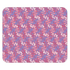 Pattern Abstract Squiggles Gliftex Double Sided Flano Blanket (Small)