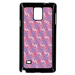 Pattern Abstract Squiggles Gliftex Samsung Galaxy Note 4 Case (black)