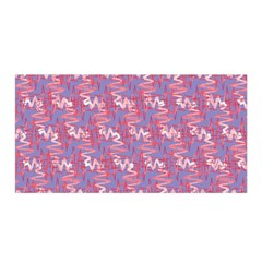 Pattern Abstract Squiggles Gliftex Satin Wrap
