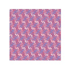 Pattern Abstract Squiggles Gliftex Small Satin Scarf (Square)