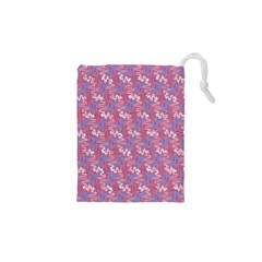 Pattern Abstract Squiggles Gliftex Drawstring Pouches (xs)