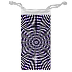 Pattern Stripes Background Jewelry Bag