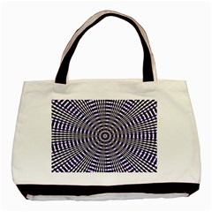Pattern Stripes Background Basic Tote Bag (Two Sides)