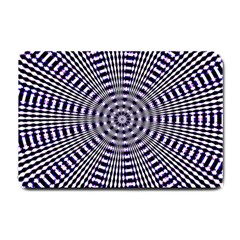 Pattern Stripes Background Small Doormat