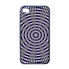 Pattern Stripes Background Apple Iphone 4 Case (black)