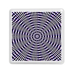 Pattern Stripes Background Memory Card Reader (Square)