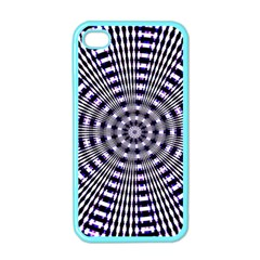 Pattern Stripes Background Apple iPhone 4 Case (Color)