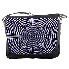 Pattern Stripes Background Messenger Bags