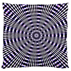 Pattern Stripes Background Large Cushion Case (two Sides)
