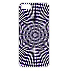 Pattern Stripes Background Apple iPhone 5 Seamless Case (White)