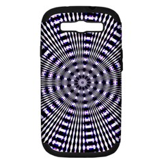 Pattern Stripes Background Samsung Galaxy S Iii Hardshell Case (pc+silicone)