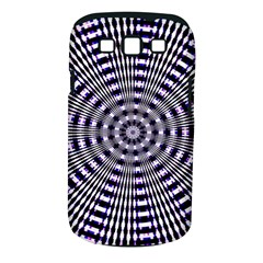 Pattern Stripes Background Samsung Galaxy S III Classic Hardshell Case (PC+Silicone)