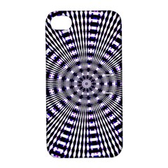 Pattern Stripes Background Apple iPhone 4/4S Hardshell Case with Stand