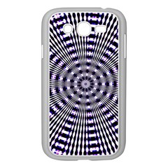 Pattern Stripes Background Samsung Galaxy Grand DUOS I9082 Case (White)