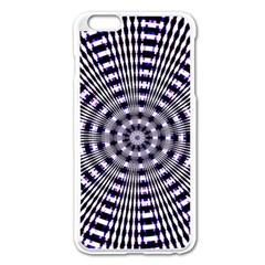 Pattern Stripes Background Apple Iphone 6 Plus/6s Plus Enamel White Case