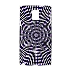 Pattern Stripes Background Samsung Galaxy Note 4 Hardshell Case