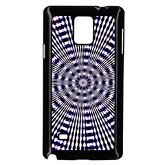 Pattern Stripes Background Samsung Galaxy Note 4 Case (Black)
