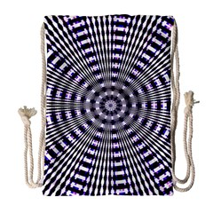 Pattern Stripes Background Drawstring Bag (large)