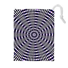 Pattern Stripes Background Drawstring Pouches (extra Large)
