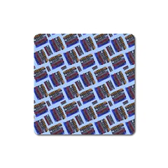 Abstract Pattern Seamless Artwork Square Magnet