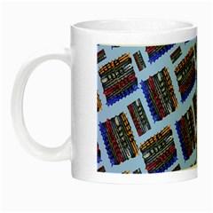 Abstract Pattern Seamless Artwork Night Luminous Mugs