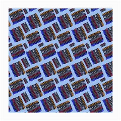 Abstract Pattern Seamless Artwork Medium Glasses Cloth (2-Side)