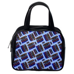 Abstract Pattern Seamless Artwork Classic Handbags (One Side)