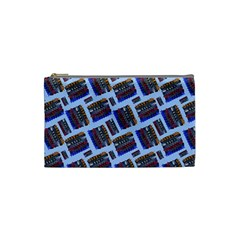 Abstract Pattern Seamless Artwork Cosmetic Bag (small)