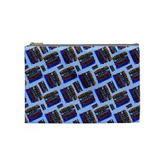 Abstract Pattern Seamless Artwork Cosmetic Bag (Medium)