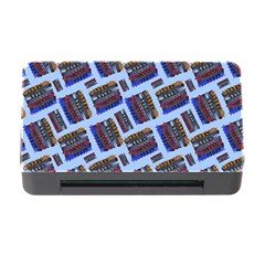 Abstract Pattern Seamless Artwork Memory Card Reader with CF