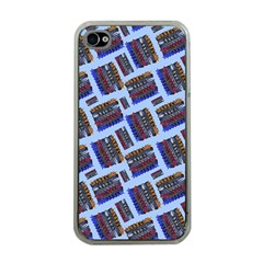 Abstract Pattern Seamless Artwork Apple Iphone 4 Case (clear)