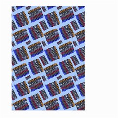 Abstract Pattern Seamless Artwork Large Garden Flag (Two Sides)