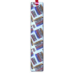 Abstract Pattern Seamless Artwork Large Book Marks