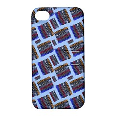 Abstract Pattern Seamless Artwork Apple Iphone 4/4s Hardshell Case With Stand